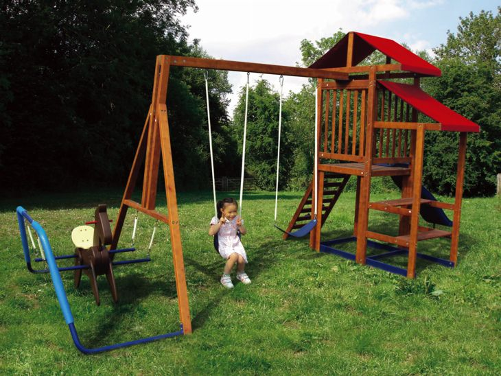 Rocking Horse Swing Set