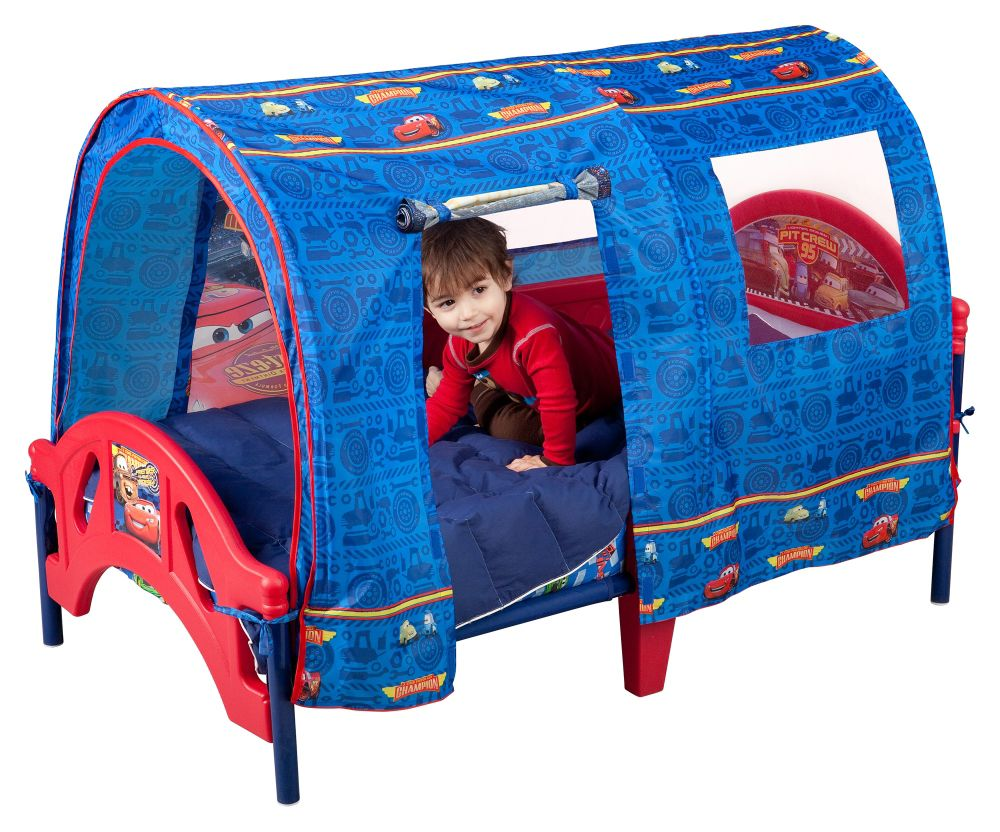 Delta Childrens Disney Pixar Cars Tent Toddler Bed
