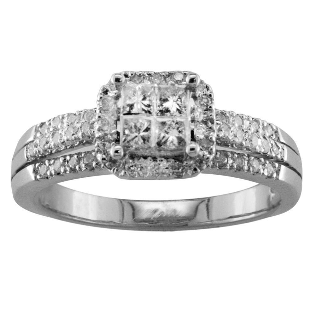 1/2 cttw Diamond Engagement Ring