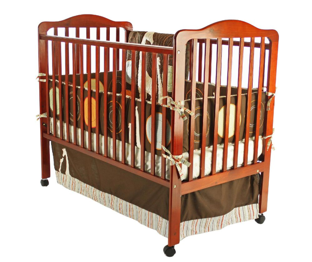 Cumberland 2 in 1 Convertible Crib Cherry