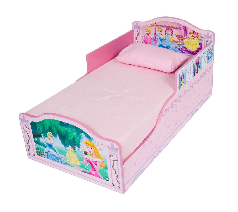 Delta Childrens Disney Princess Wooden Toddler Bed