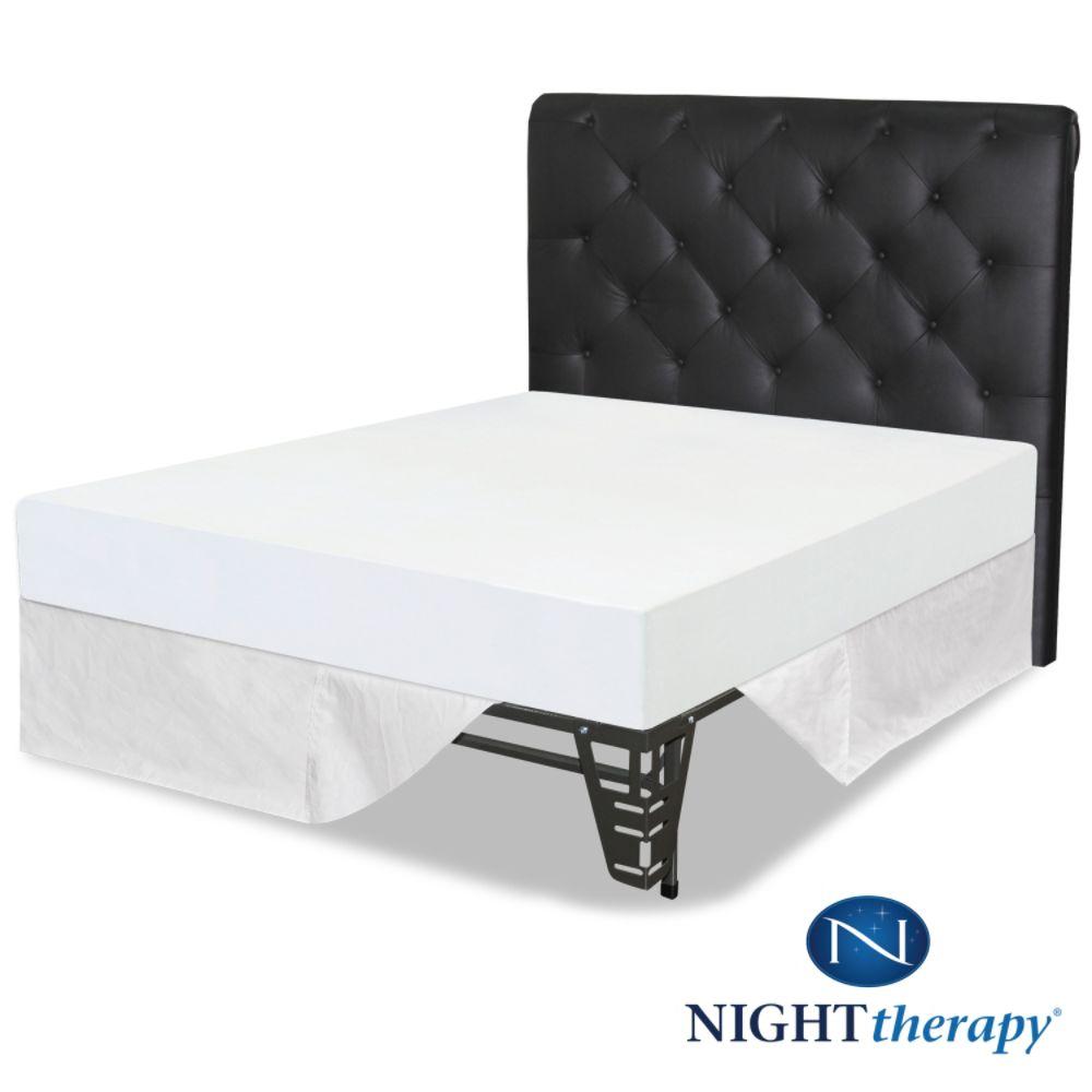 Night Therapy Memory Foam Twinxl Mattress Frame bed