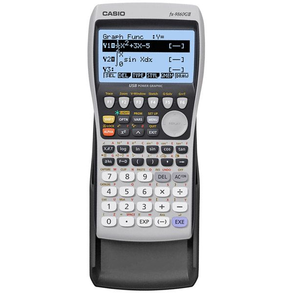 Casio Graphing Calculator With USB Cable FX 9860GII CASIO INC