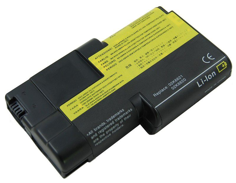 Laptop Battery Pros IBM: ThinkPad T20 Series, ThinkPad T21, ThinkPad T22, ThinkPad T23, ThinkPad T24