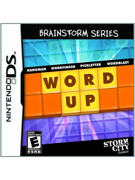Storm City Games Word Up - Brainstorm Series for Nintendo DS