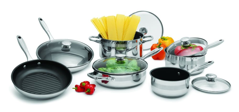 Wolfgang Puck 11 Piece Nonstick Cookware Set