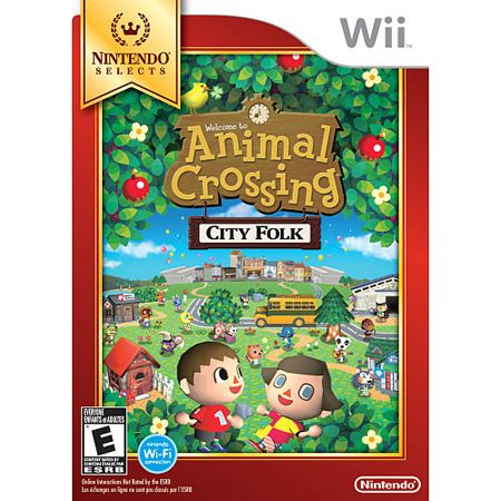 Animal Crossing City Folks Nintendo Selects WII NINTENDO OF AMERICA INC