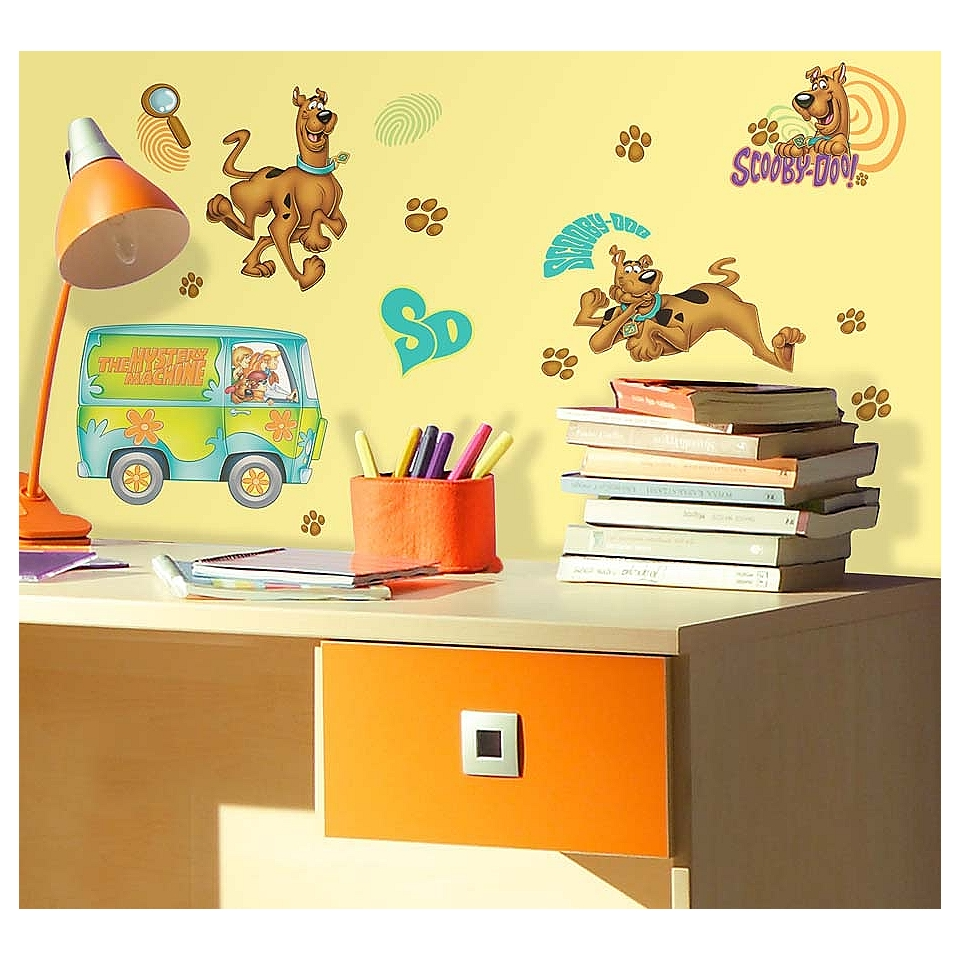 Scooby Doo Peel & Stick Wall Decals  RoomMates Tools Painting
