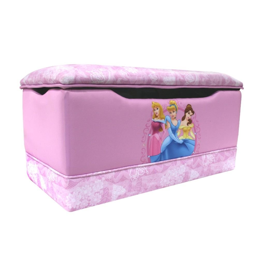 Delta Childrens Disney - Princess Hearts and Crowns                            Toy Box