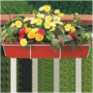 Cobraco  36'' Adjustable Basic Flower Box Holder - White