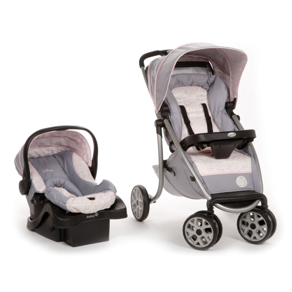 Disney Princess Princess Royal Ride Travel System - Princess Silhouette