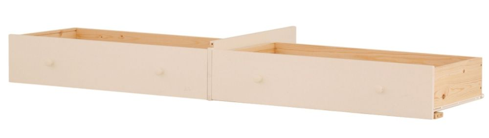 Canwood Extra 2 Drawer Set (Mates - Double) - White