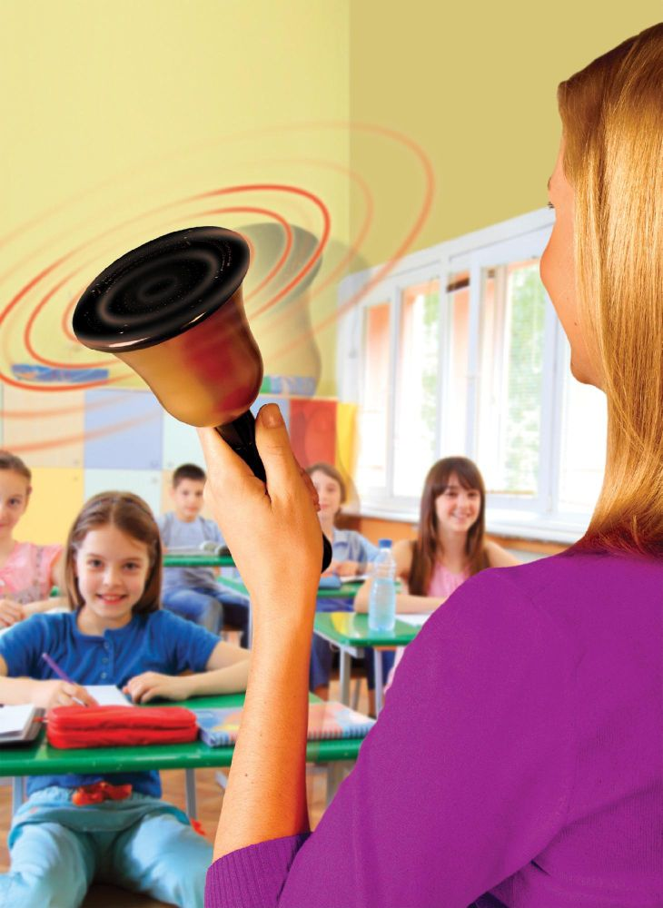 Educational Insights No Yell Bell Classroom Attention Getter