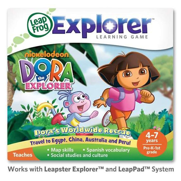 LeapFrog Explorer Learning Game: Dora the Explorer