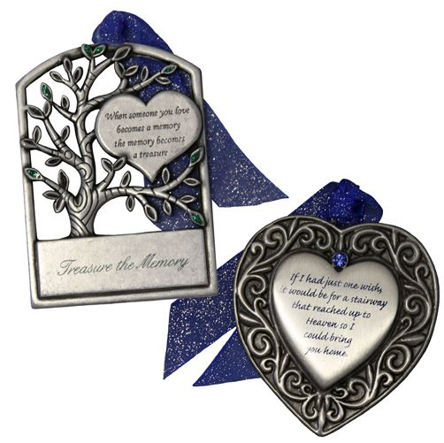 Gloria Duchin 2 Piece Memorial Ornament Gift Set