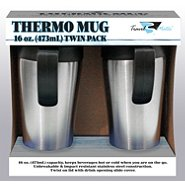 Sears - Thermo Travel Mug, 16oz. Twin Pack - $3.49