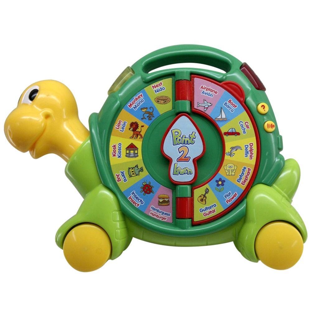 Just Kidz Bilingual Point 2 Learn Turtle