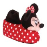 Disney Toddler Girls' Minnie Mouse Socktop Slipper - Multi