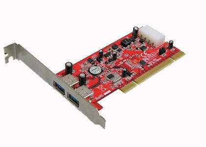 Addonics USB Adapter - AD2U3PCI