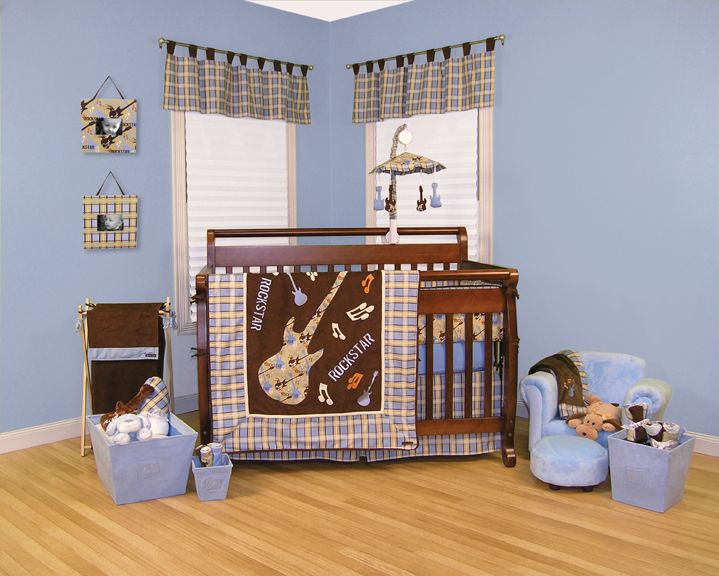 Trend-Lab Rockstar - 4 Pc Crib Set