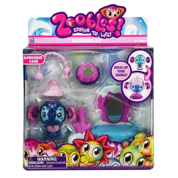 Spinmaster Zoobles Dressoobles - Elephant Best Price