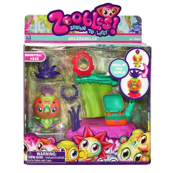 Spinmaster Zoobles Dressoobles - Parrot Best Price