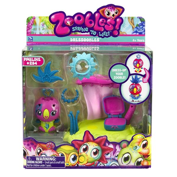 Spinmaster Zoobles Dressoobles - Parrot 2 Best Price