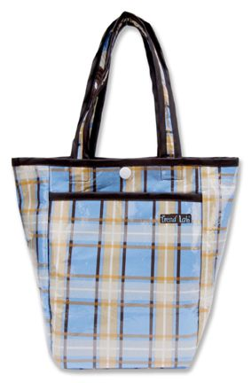 Trend-Lab Mini Tulip Tote - Rockstar Plaid