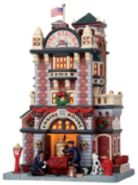 Lemax Village Collection Christmas Village Porcelain Lighted House - Engine House No. 23 at Kmart.com