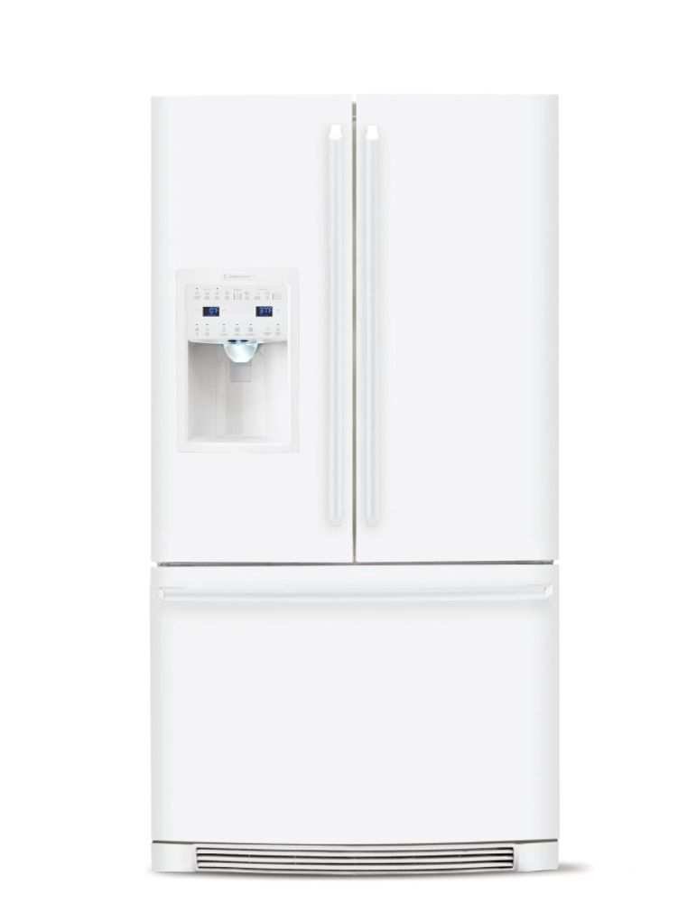 French Door Refrigerator White Products On Sale
