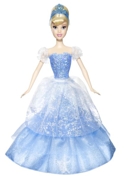 Disney Princess 2-in-1 BALLGOWN SURPRISE™ Doll Cinderella