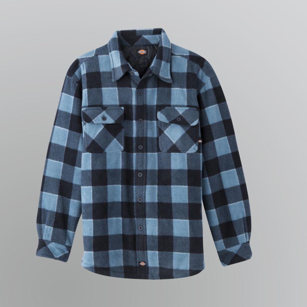 Men 39 s tall flannel shirt jacket long sweater jacket for Weatherproof vintage men s lightweight flannel shirt