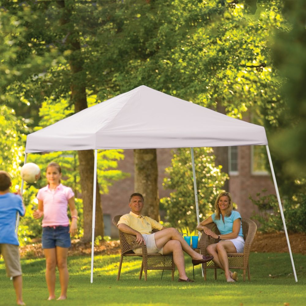 Shelter Logic 10x10 Pop-up Canopy White Cover