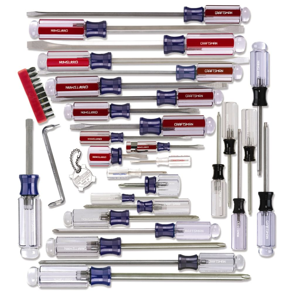 41 pc. Screwdriver Set