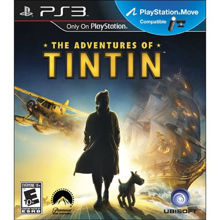 UBI Soft Adventures of Tintin The Game Move Compatible UBI SOFT