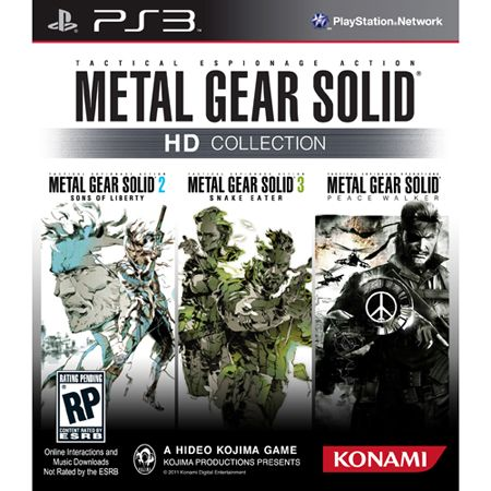 Metal Gear Solid HD Collection Officially Delayed