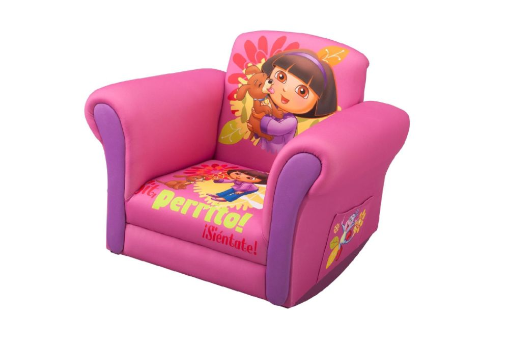 Sears Bedroom Furniture on Dora The Explorer Upholstered Rocking Chair
