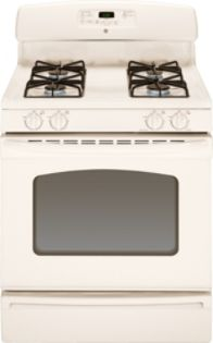 GE 30&#34 Freestanding Gas Range, Bisque (Model JGBS23DETCC )