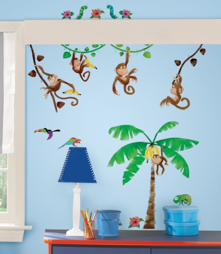 Morrow Monkeys Peel & Stick Wall Decals