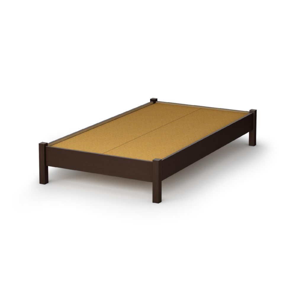 Twin platform bed frame via s shld net