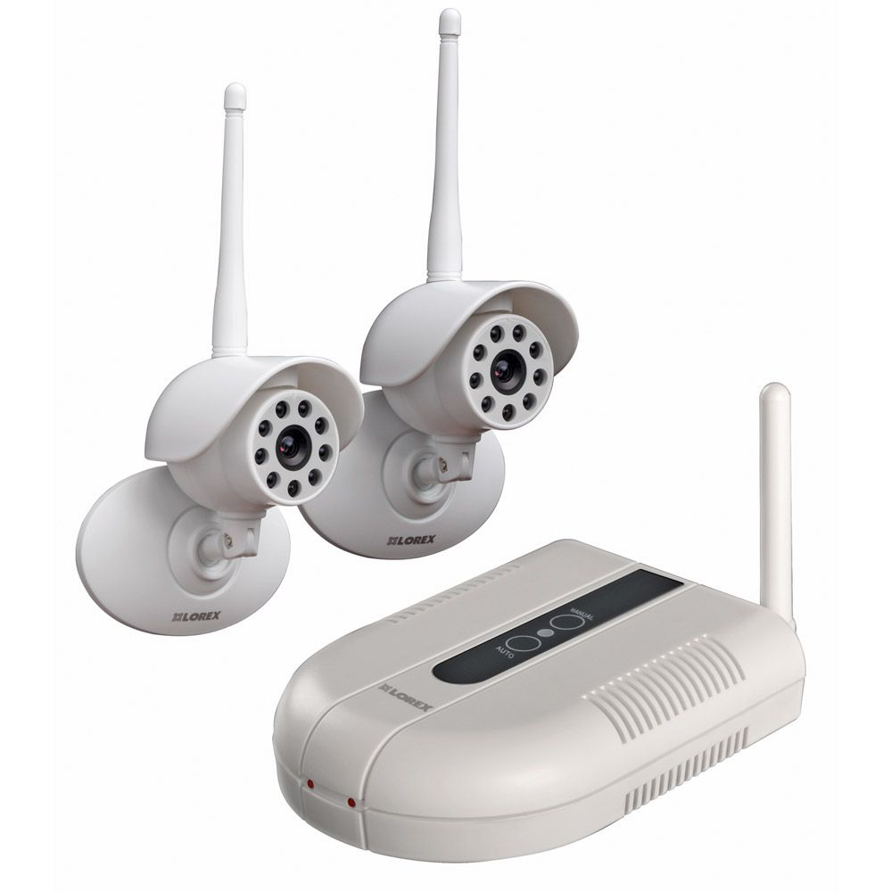 Lorex 2 Wireless Camera System - LW1002W