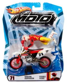 Hot Wheels  HOT WHEELS® Moto with Rider