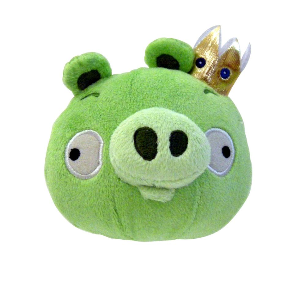 Angry Birds: Everybody needs a stuffed King Pig with Sounds!