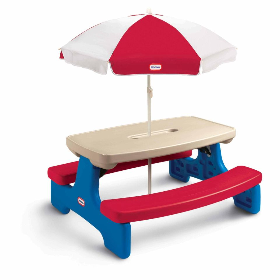 Little Tikes Easy Store Table With Umbrella At Sears