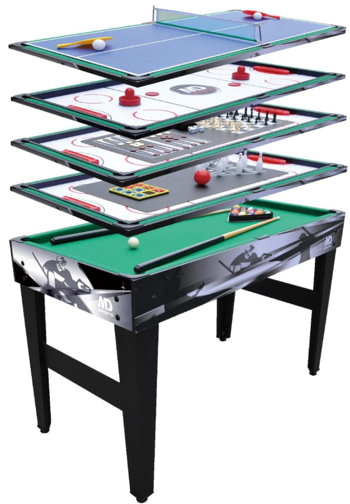 Medal sports 48in 12 in 1 multi game table 90 list 150 for 12 in 1 game table kmart