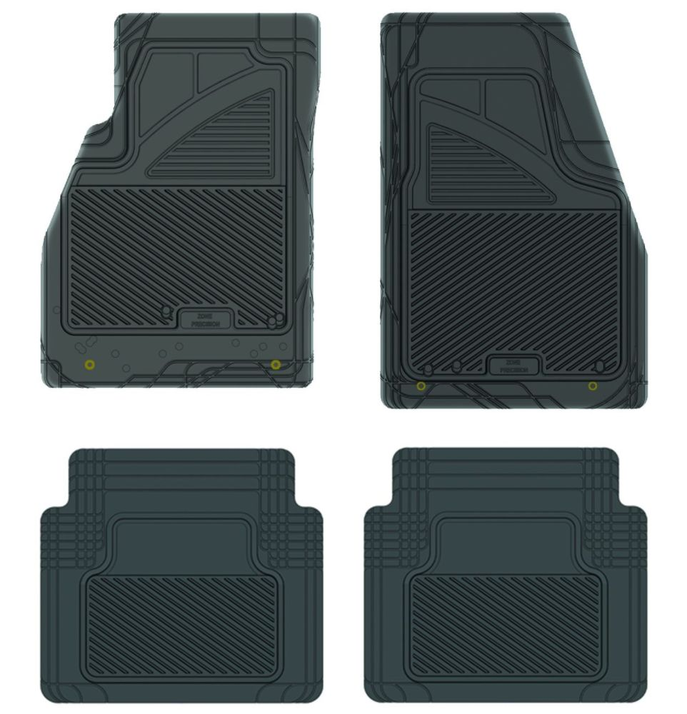 Koolatron 17201 Black Precision All Weather Kustom Fit Car Mat for 2011+ Buick Lacrosse