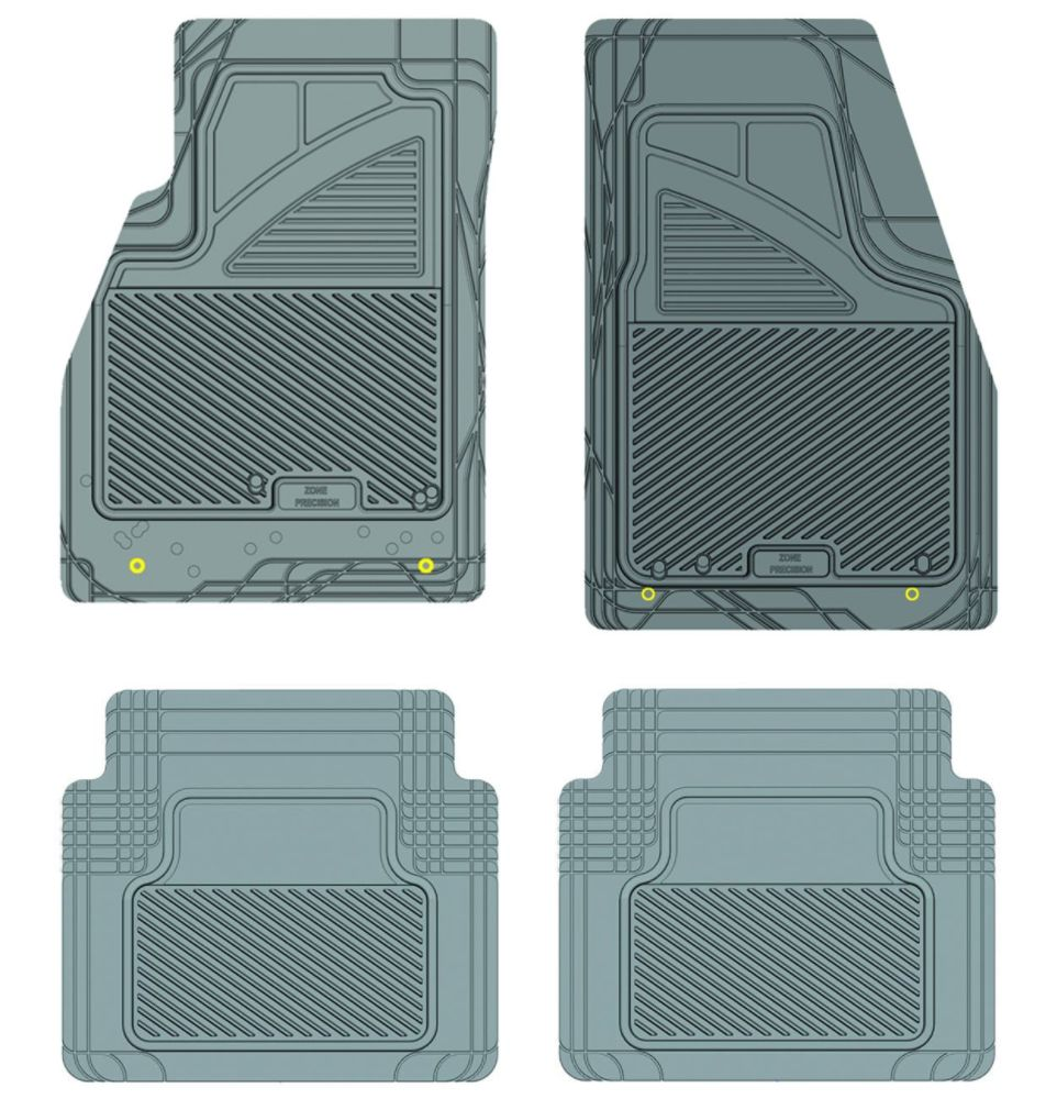 Koolatron 17251 Grey Precision All Weather Kustom Fit Car Mat for 2011+ Buick Lacrosse