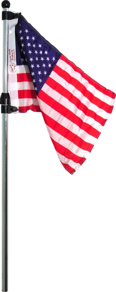 SeaSense TELESCOPING FLAG POLE WITH U.S. FLAG