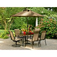 Sears - Garden Oasis  Cameron 7 Pc. Dining Set - $209.97
