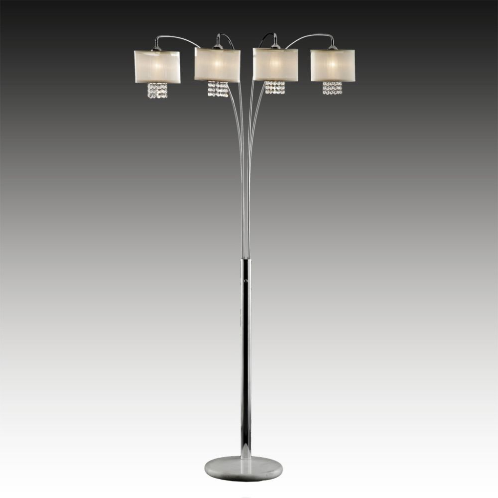 Oxford Creek Crystal Arc Floor Lamp | Compare price and get advice ...